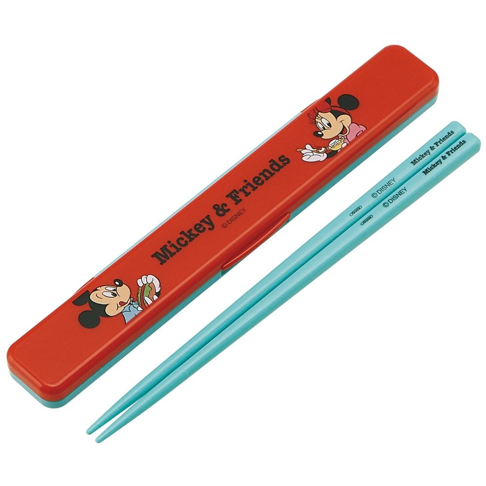 カチャカチャ音が鳴らないハシバコセット ミッキー&フレンズ ピクニック  ABC3