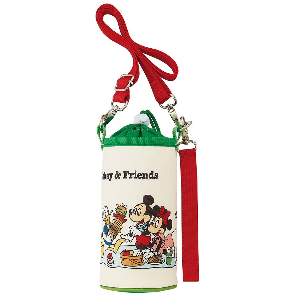保冷ペットボトルケース●ミッキー&フレンズ ピクニック●KPB6A