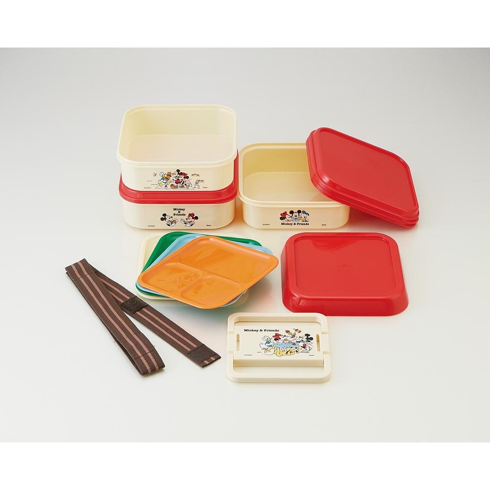 ミッキー&フレンズ 3段ランチボックス ピクニック