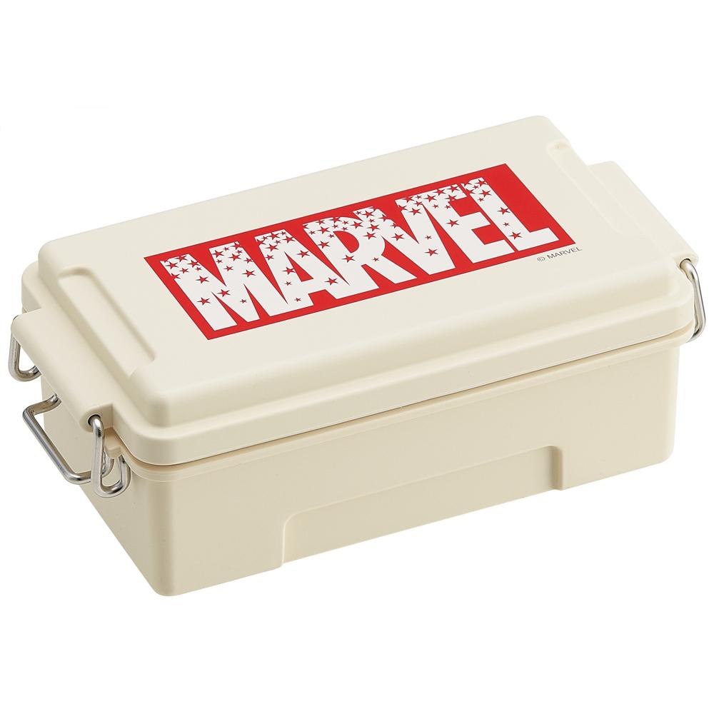 ふわっとコンテナランチBOX[容量500ml]●マーベル ロゴスター ホワイト●PCTN5