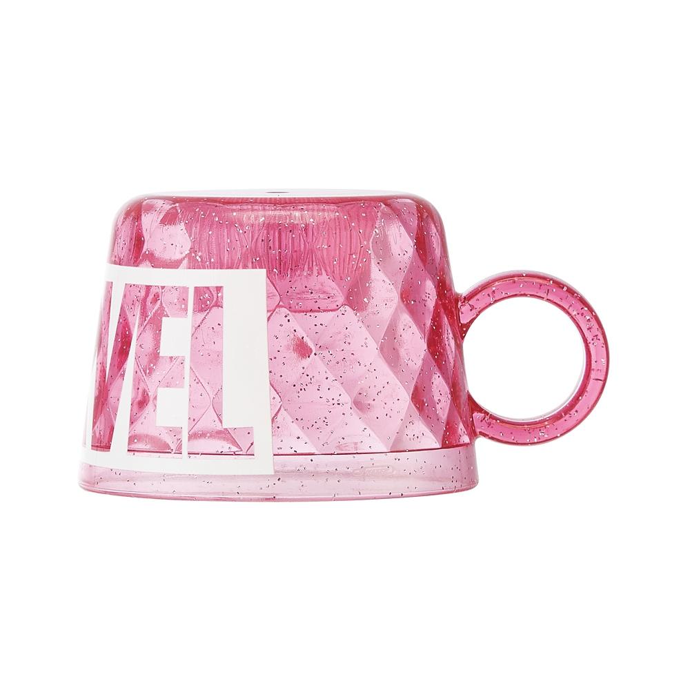MARVEL ロゴ ピンク ペットボトルキャップコップ CPB1D