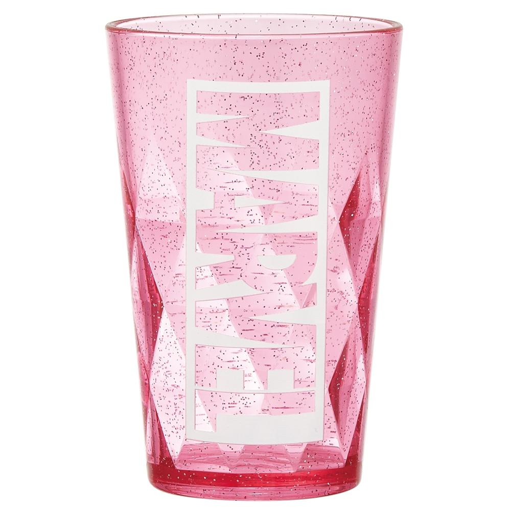 マーベル ロゴ ピンク アクリルタンブラー KST1