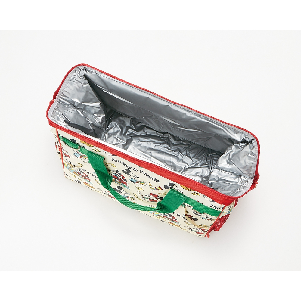 ミッキー&フレンズ ピクニック 保温・保冷がま口マルチバッグ KGAR1