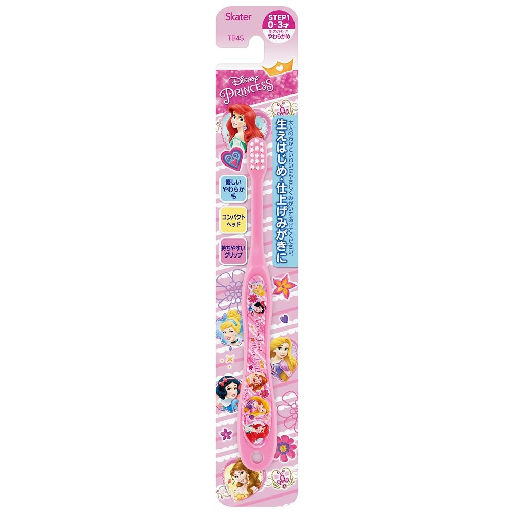 プリンセス   0~3歳乳児用歯ブラシ 子供用ハブラシ転写タイプTB4S