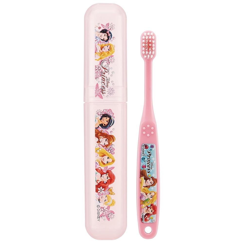 園児用 デンタルキット(歯ブラシ&ケースセット)●ディズニー プリンセス●TBC3-0S
