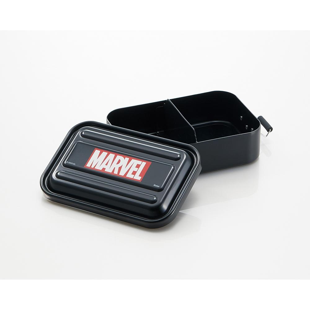 マーベル お弁当箱 ブラック ふわっと ロゴ