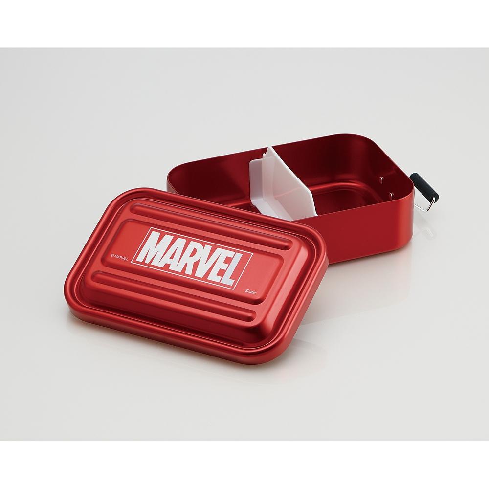 マーベル お弁当箱 レッド ふわっと ロゴ