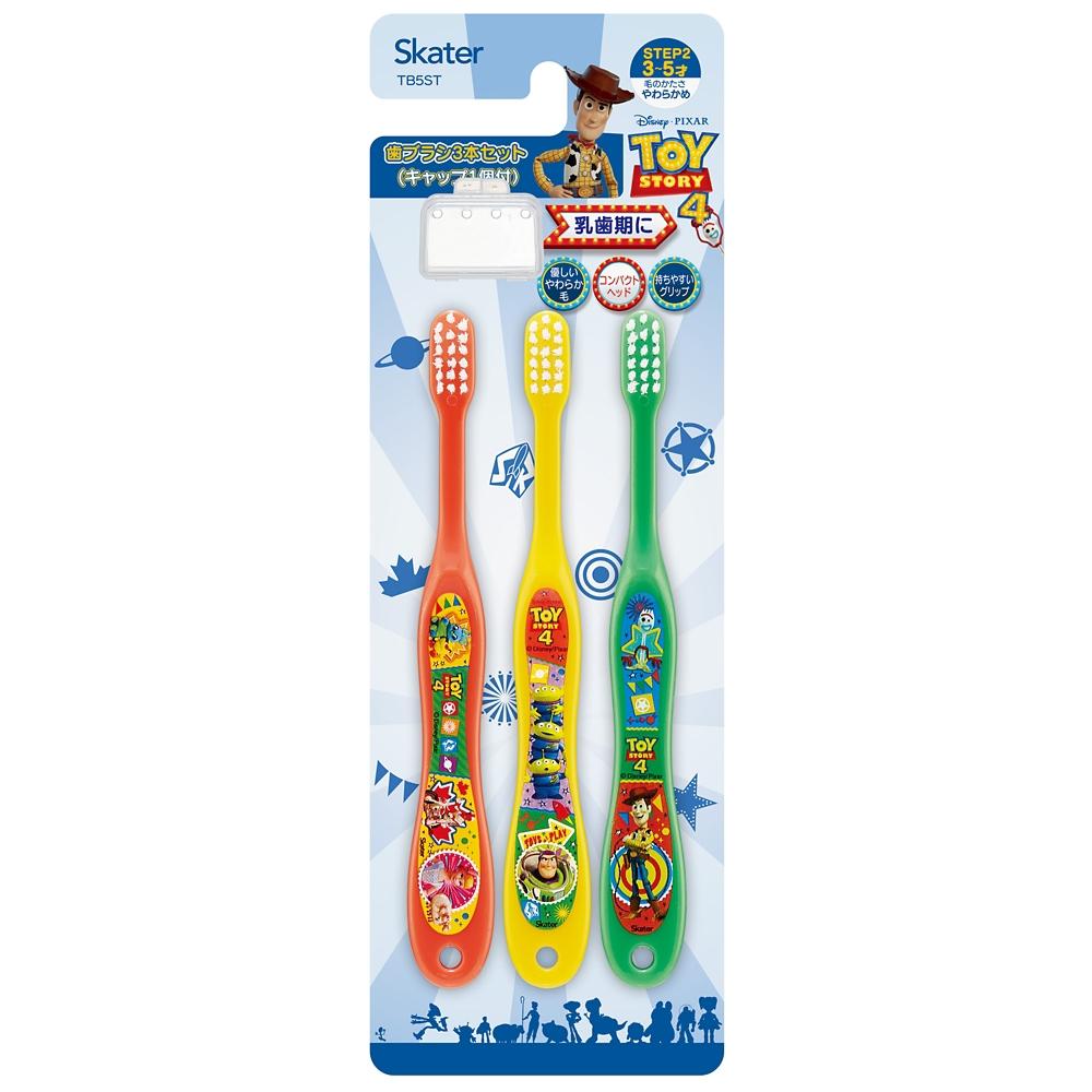 園児用 歯ブラシ 3本セット●ディズニー トイストーリー4●TB5ST