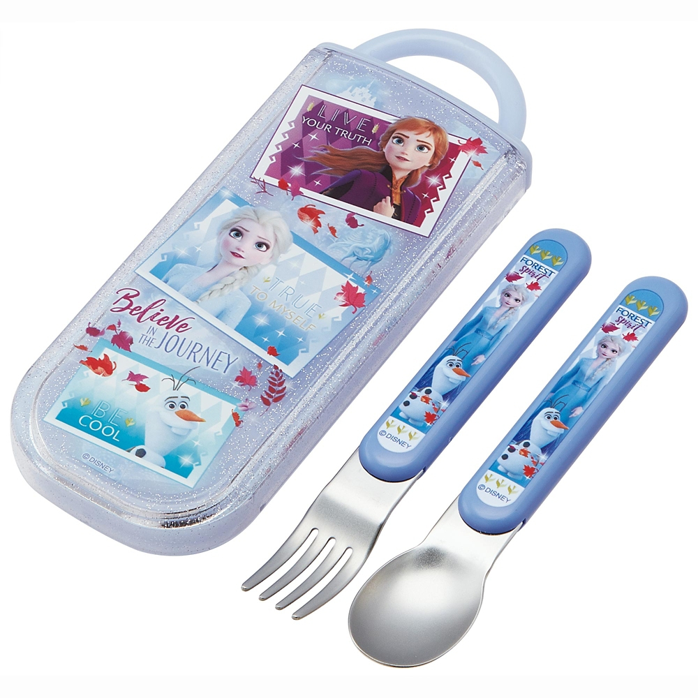 アナと雪の女王2 食洗機対応スライド式スプーンフォークセット CC2