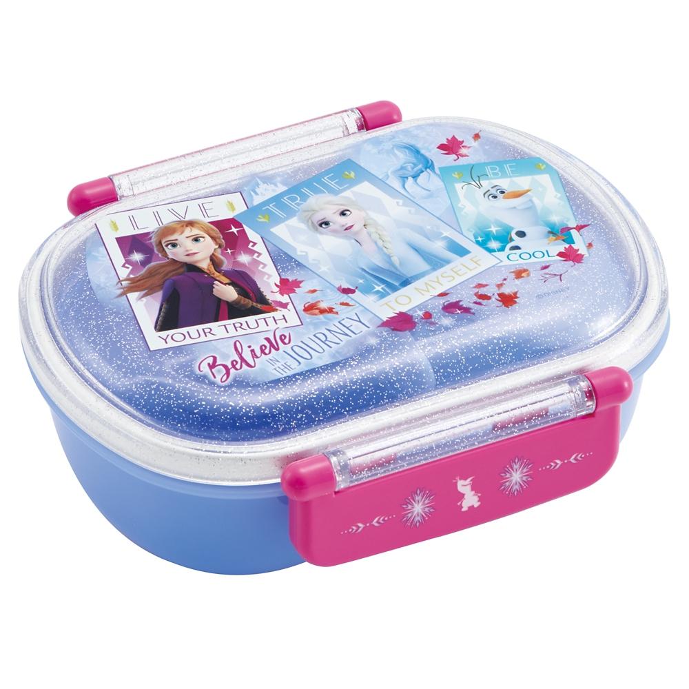 ●アナと雪の女王2●食洗機対応ふわっとフタタイトランチボックス[小判型]QAF2BA