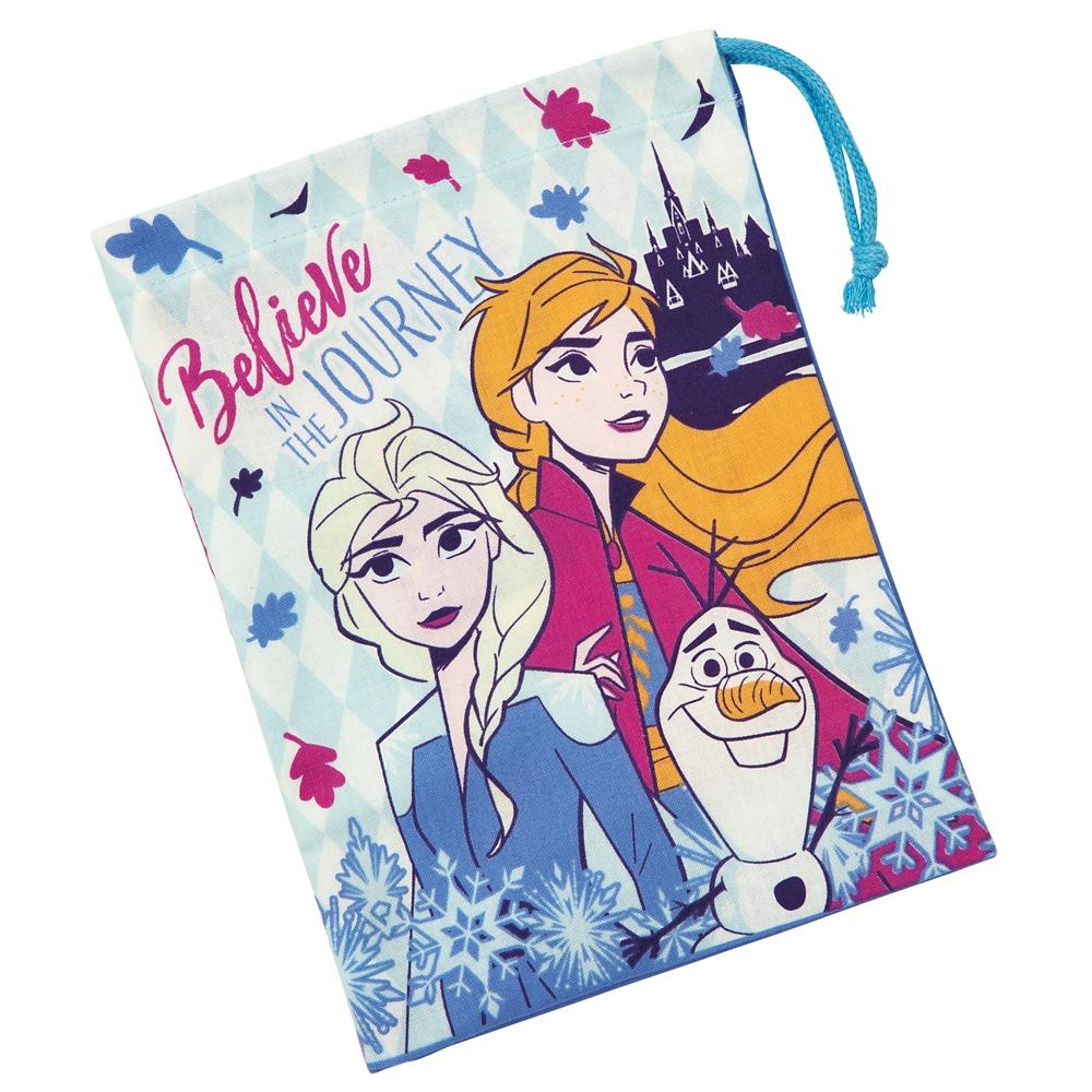 アナと雪の女王2 歯ブラシホルダー付コップ袋 KB62