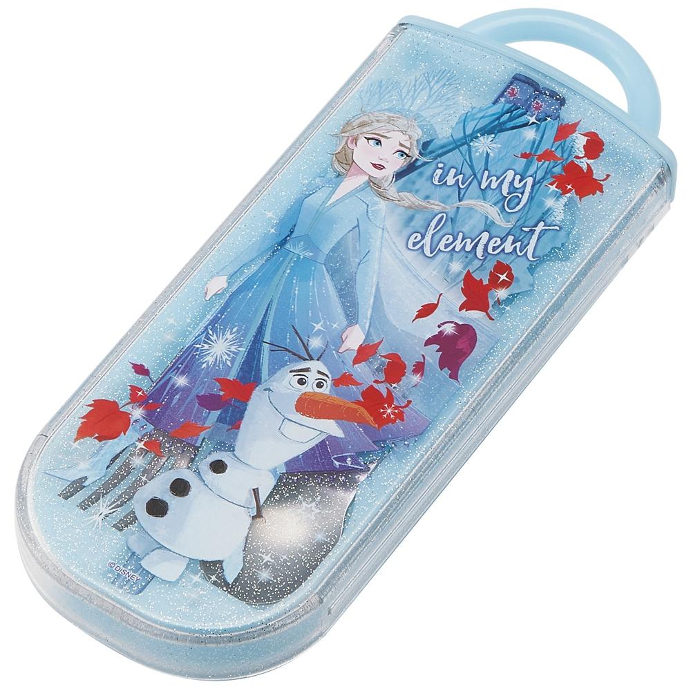 アナと雪の女王 エルサ&オラフ  食洗機対応スライド式トリオセットTACC2