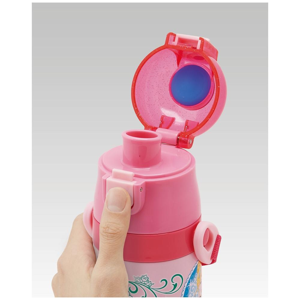 プリンセス キャップを替えて使い方2通り2WAYステンレスボトル SKDC4