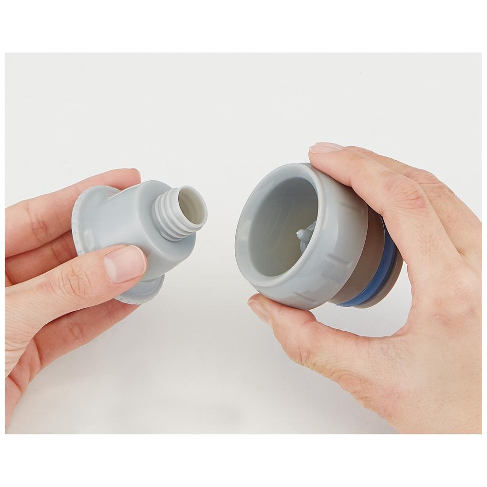 キャップを替えて使い方2通り2WAYステンレスボトル[570-580ml]●プリンセス20●SKDC6