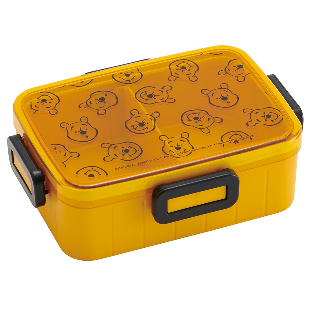 ●くまのプーさん ハニー●4点ロックお弁当箱【650ml】YZFL7C