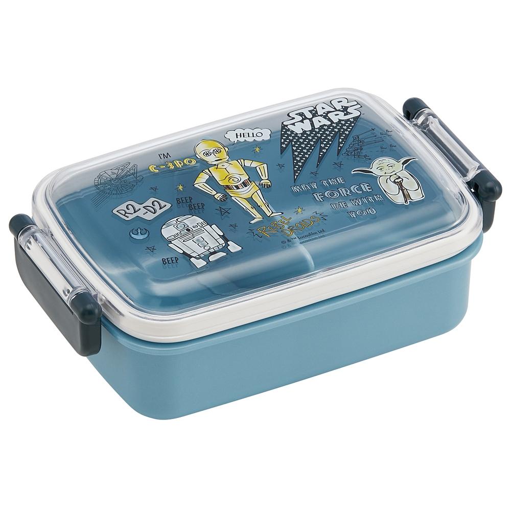 スターウォーズ DOODLES 食洗機対応ふわっとフタタイトランチボックス[角型] RBF3AN