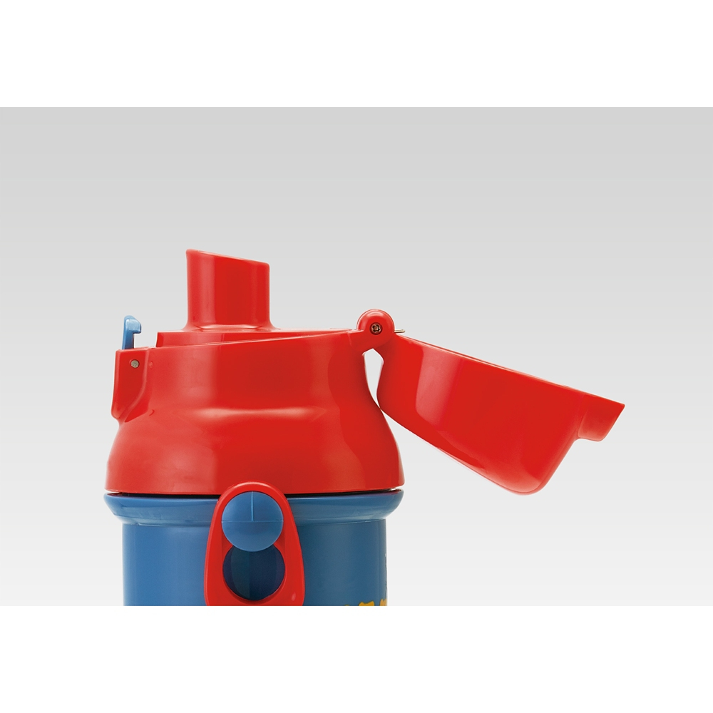 スパイダーマン CUTOUT 食洗機対応 子供用直飲み水筒 480ml PSB5SAN