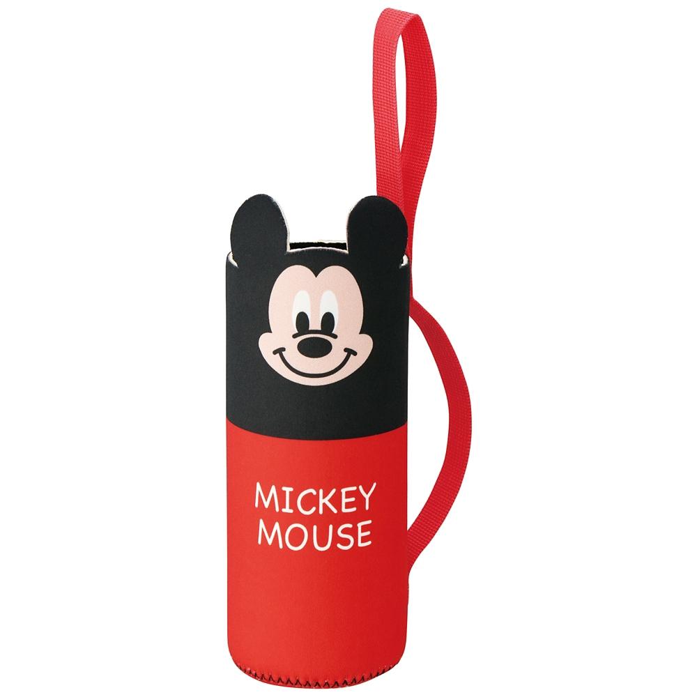 ウエット素材ハンドル付きペットボトルカバー[500ml対応]●ミッキーマウス●WSPB9