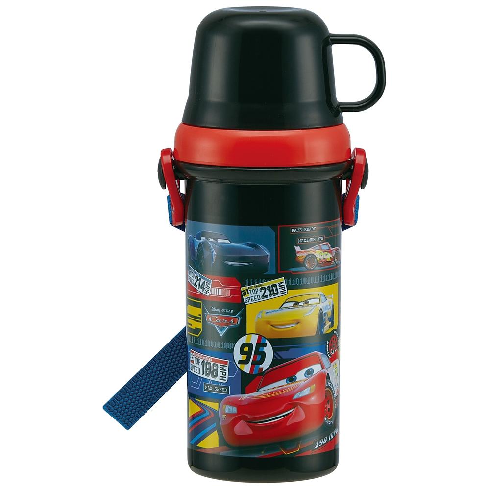 【食洗機対応】子供用直飲み・コップ飲み水筒[480ml]●カーズ20●PSB5KD