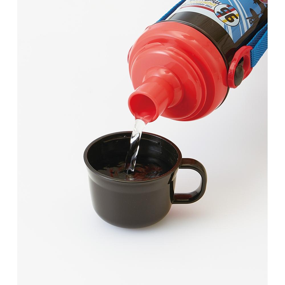 カーズ 【食洗機対応】子供用直飲み・コップ飲み水筒[480ml] PSB5KD