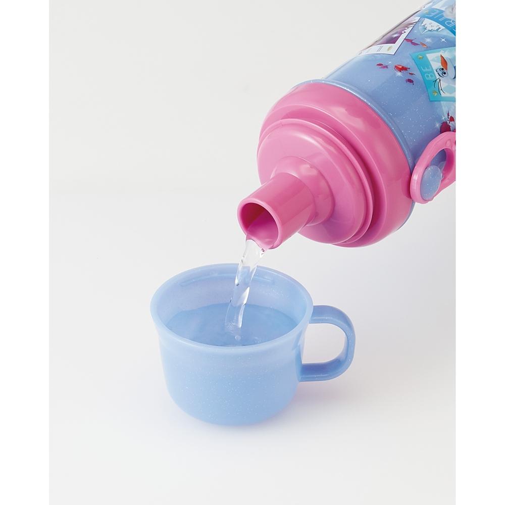 【食洗機対応】子供用直飲み・コップ飲み水筒 480ml●アナと雪の女王2●PSB5KD