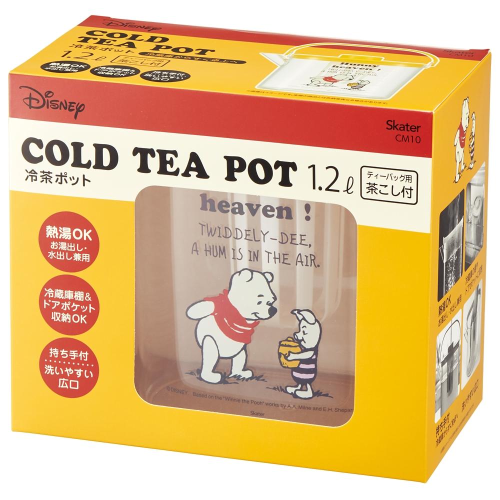 くまのプーさん コミック ティーバッグ用茶こし付 冷茶ポット[1.2L] CM10