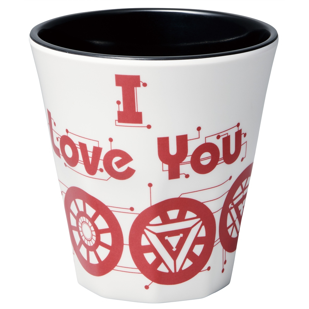 メラミンコップ[270ml]●I LOVE YOU 3000(RED)●MTB2