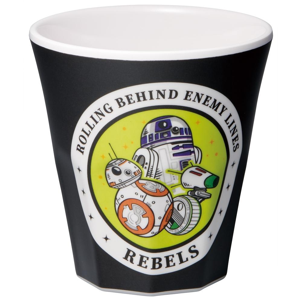 スター・ウォーズ R2-D2 & BB-8 & D-O メラミンコップ[270ml] MTB2