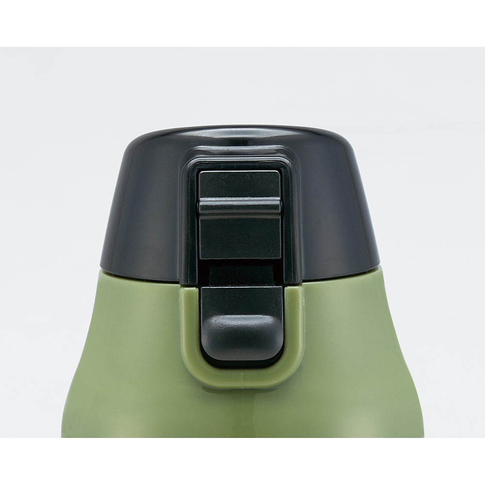 【カバー付き】ロック付きワンプッシュダイレクトボトル[990ml]●マーベル ロゴ ミリタリー●KSDC10S