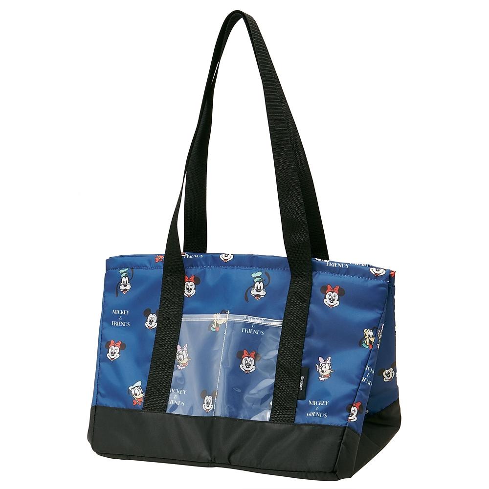 ミッキー&フレンズ レジカゴ保冷バッグ 巾着タイプ フェイス