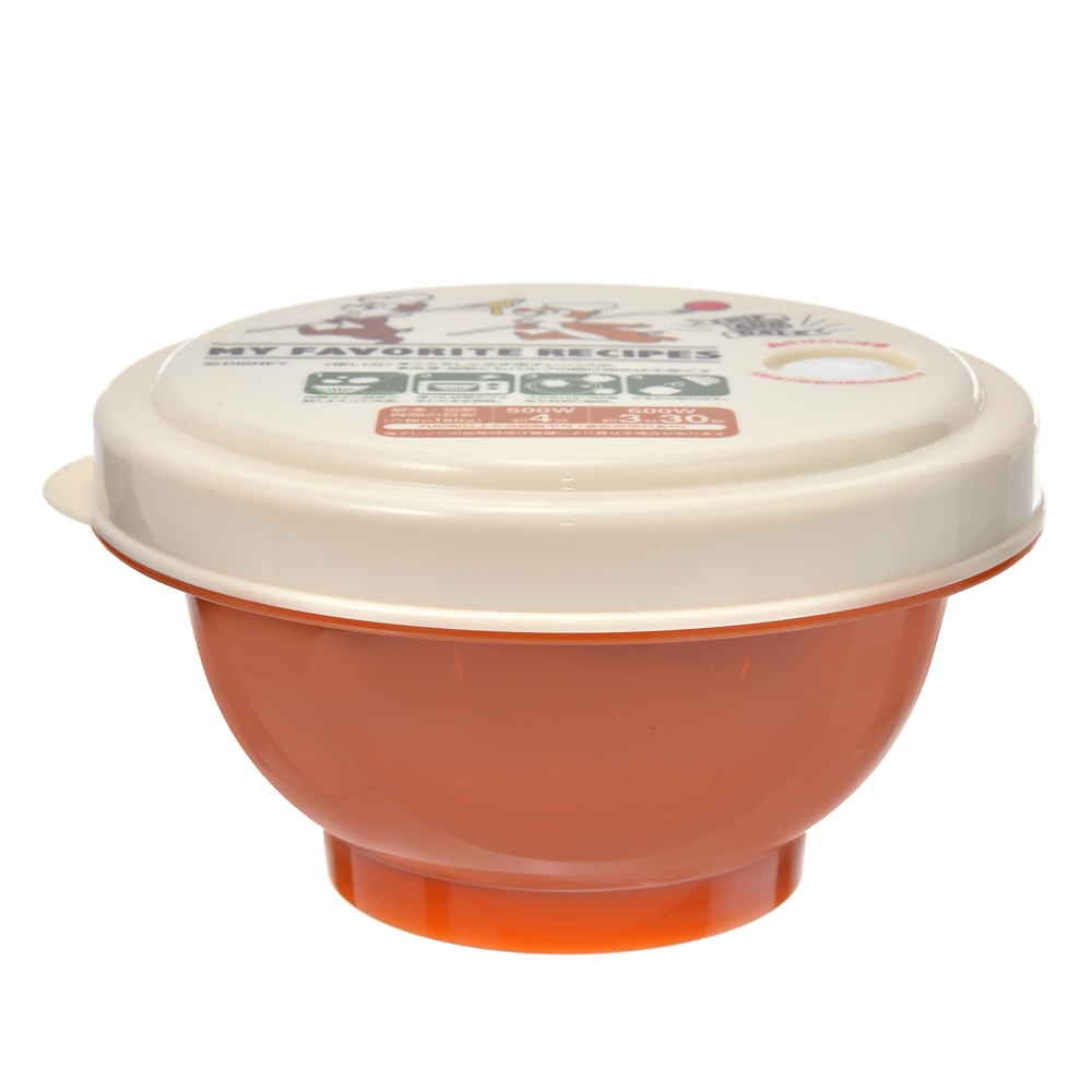 チップ&デール 薄肉ごはん保存容器(S) お茶碗型 クッキング