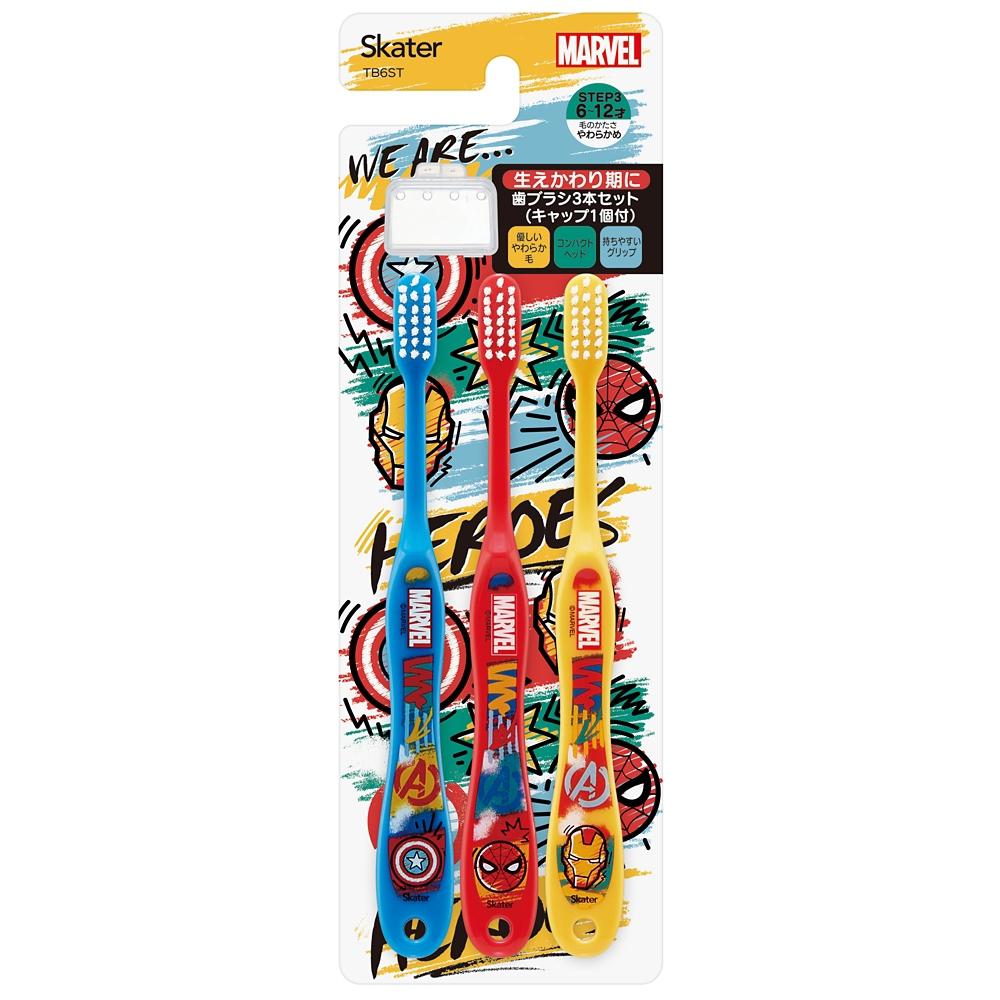 マーベル/ICON 小学生用 歯ブラシ3本セット TB6ST