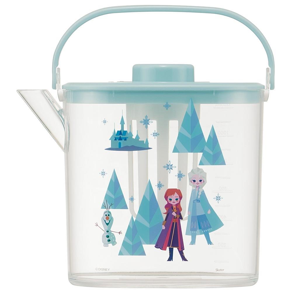 アナと雪の女王 ティーバッグ用茶こし付 冷茶ポット[1.2L] CM10