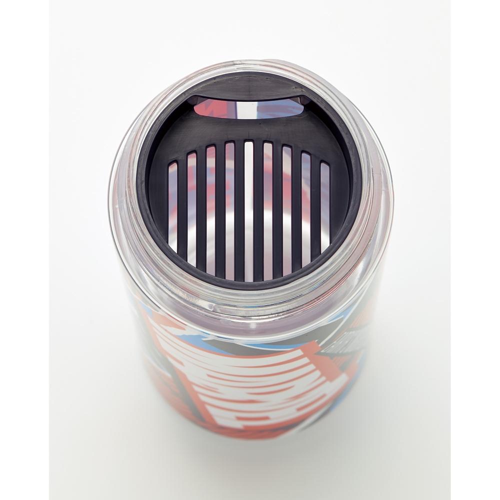シンプルデザインブローボトル[600ml]●MARVEL ロゴ/MIX(レッド)●PDC6