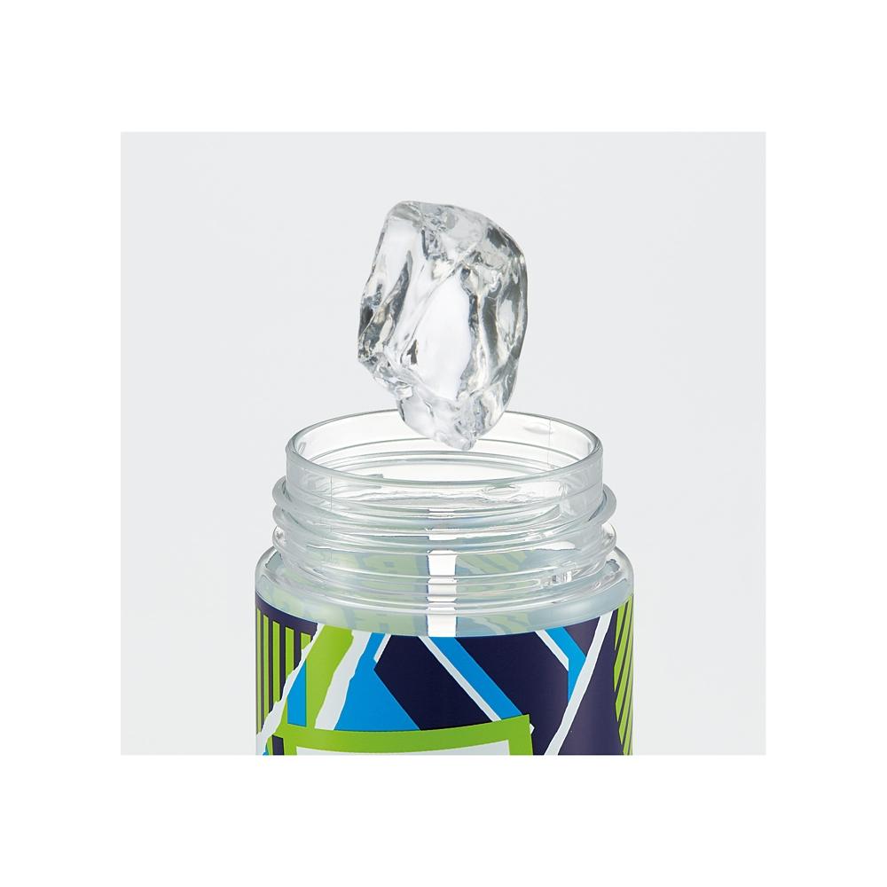シンプルデザインブローボトル[600ml]●MARVEL ロゴ/MIX(グリーン)●PDC6