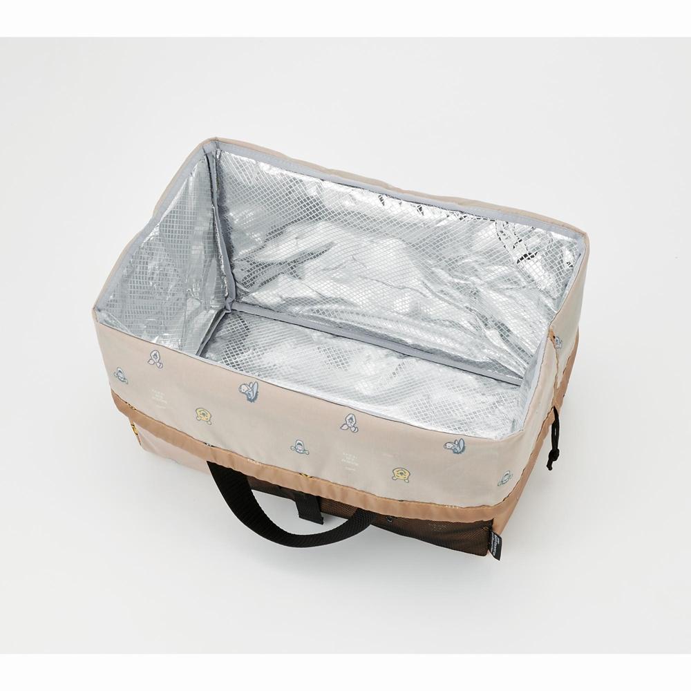 プー&フレンズ リュックサック・バックパック レジカゴ用保冷バッグ フェイス
