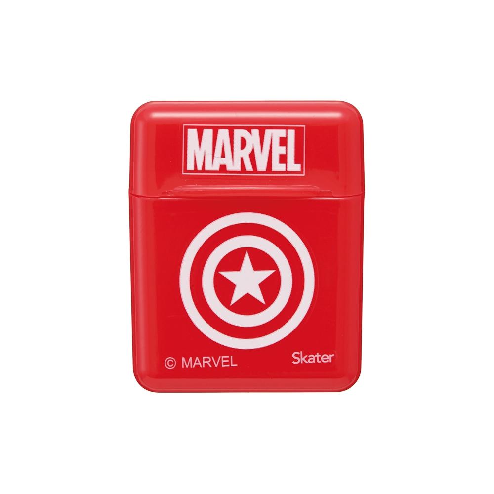 MARVEL ロゴ ケース付きシリコーンストロー[21cm] CSST1