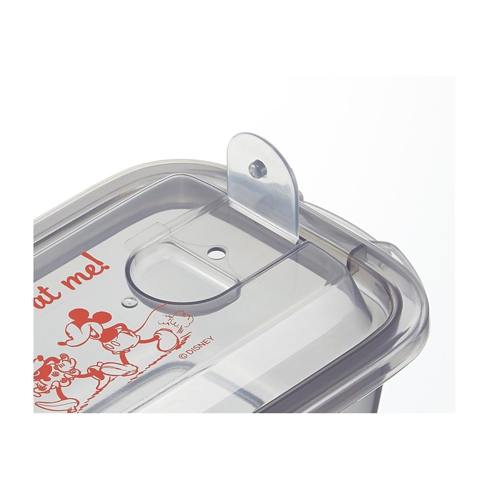 エアー弁付ふわっと保存容器M[300ml]2個セット●ミッキーマウス●FCNF1W