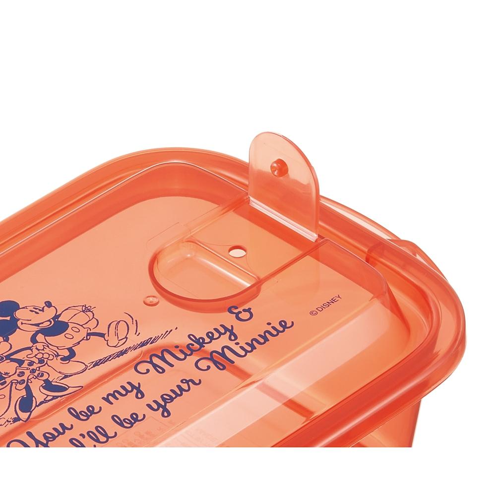 エアー弁付ふわっと保存容器L[500ml]2個セット●ミッキーマウス●FCNF2W