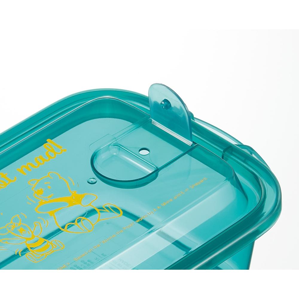 くまのプーさん エアー弁付ふわっと保存容器L[500ml]2個セット FCNF2W