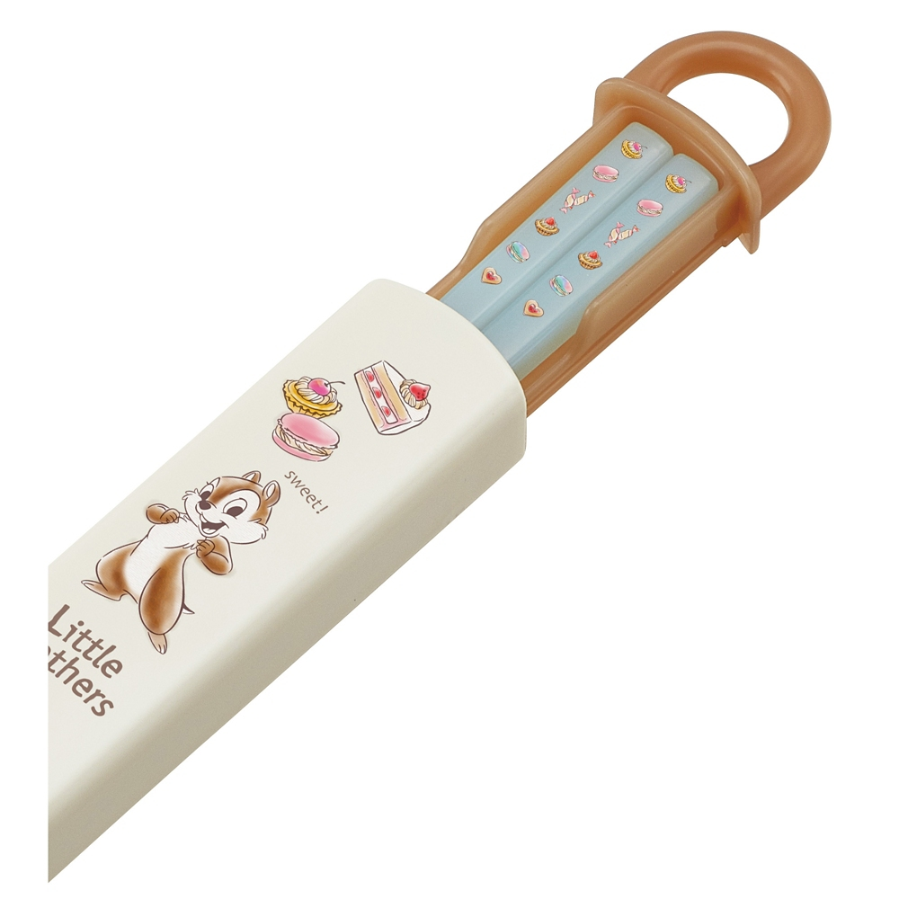 チップ&デール スイーツ 抗菌食洗機対応箸&スライド箸箱セット[16.5cm] ABS2AMAG