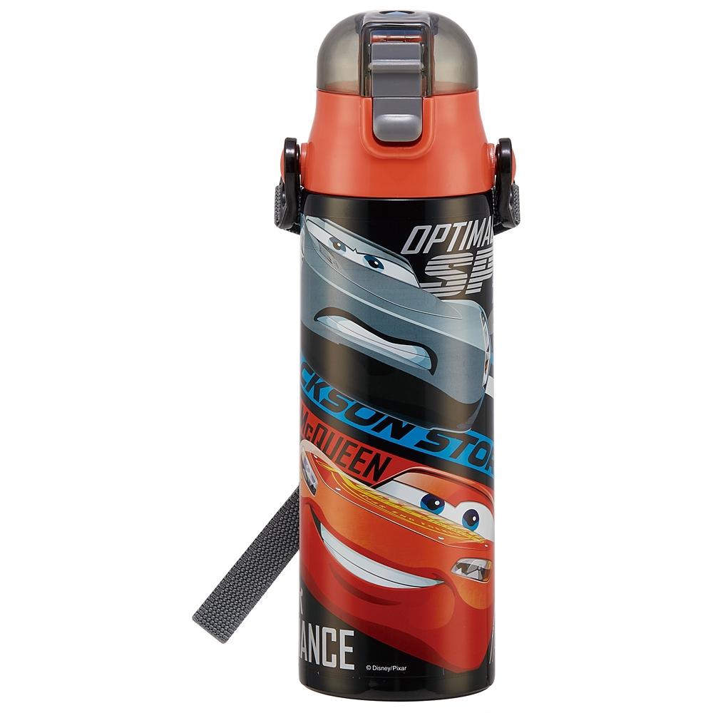 ●カーズ 21●ロック付き ワンプッシュ ダイレクトステンレスボトル[580ml]超軽量コンパクトタイプSDC6N