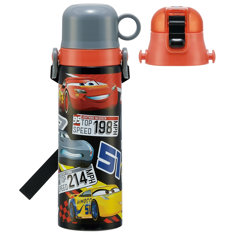 カーズ  キャップを替えて使い方2通り2WAYステンレスボトル[570-580ml] SKDC6