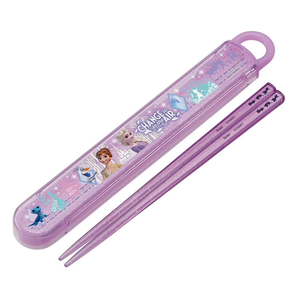 アナと雪の女王  抗菌食洗機対応箸&スライド箸箱セット[16.5cm] ABS2AMAG