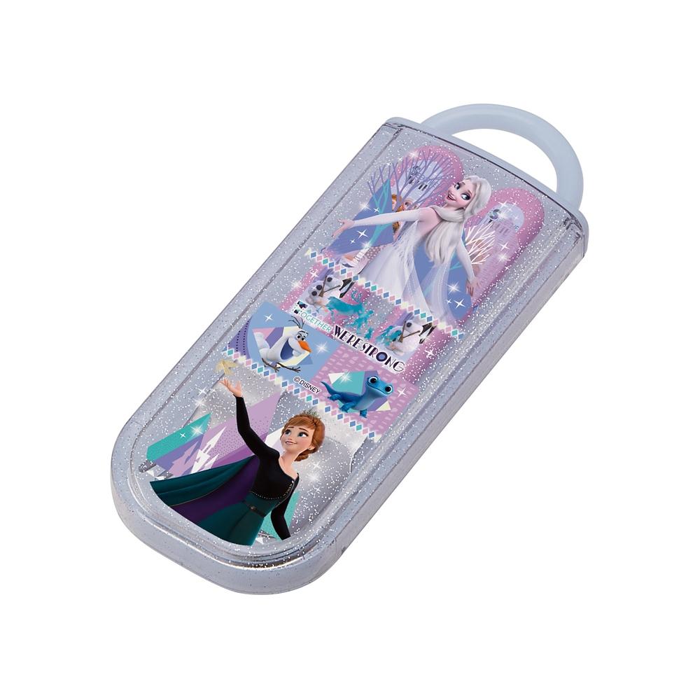 食洗機対応スライド式スプーンフォークセット●アナと雪の女王 21●CC2