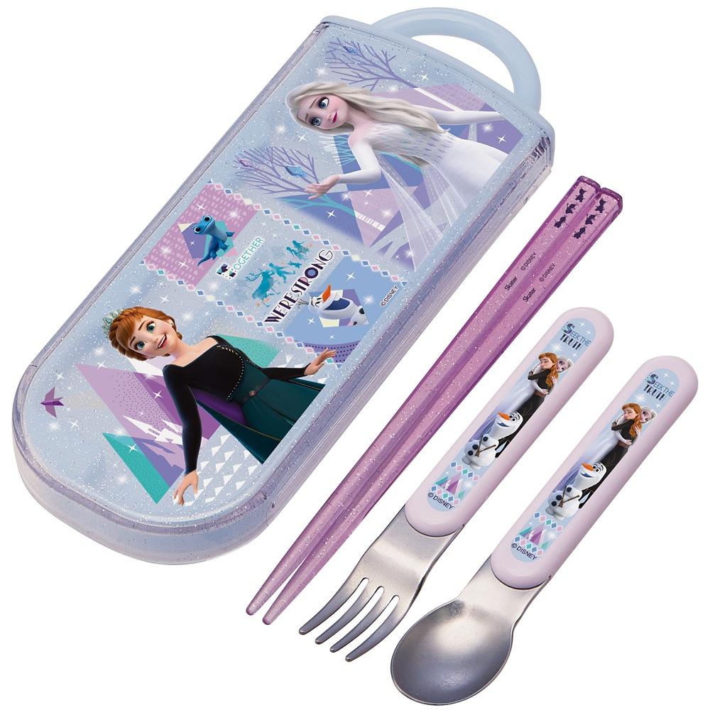 アナと雪の女王  抗菌食洗機対応スライド式トリオセット TACC2AG