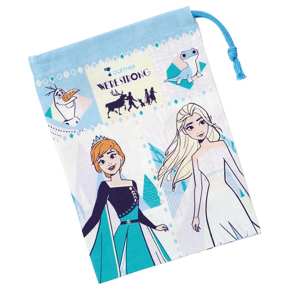 アナと雪の女王  歯ブラシホルダー付コップ袋 KB62
