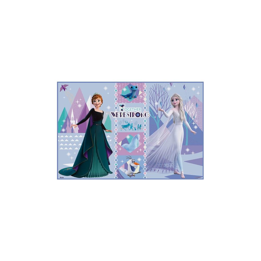レジャーシート〔1人用〕●アナと雪の女王 21●VS1