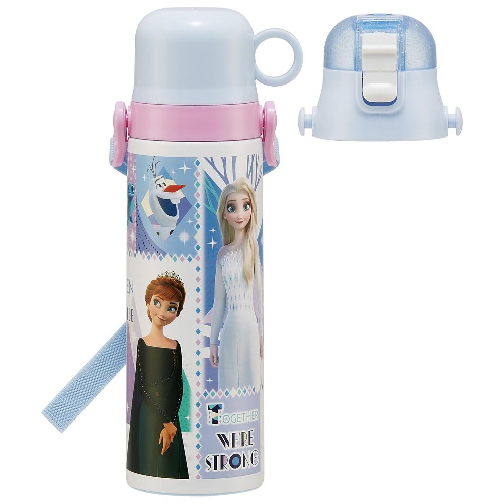 キャップを替えて使い方2通り2WAYステンレスボトル[570-580ml]●アナと雪の女王 21●SKDC6