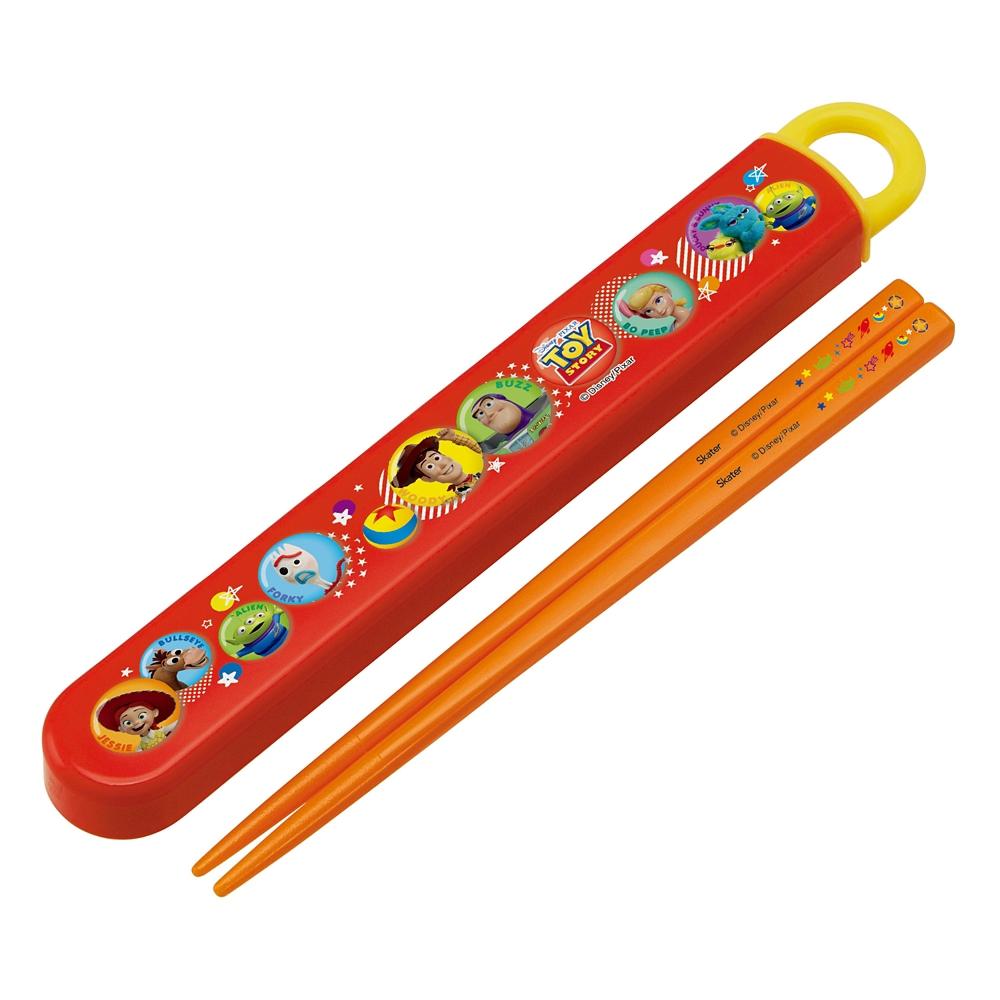 トイ・ストーリー  抗菌食洗機対応箸&スライド箸箱セット[16.5cm] ABS2AMAG